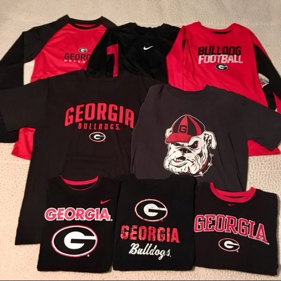new product 4ff39 10f26 Ga. Bulldogs shirt bundle